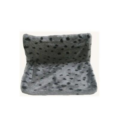 Katzenhängematte grau gepunktet