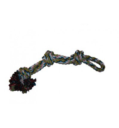 Hundespielzeug Spieltau mit 3 Knoten