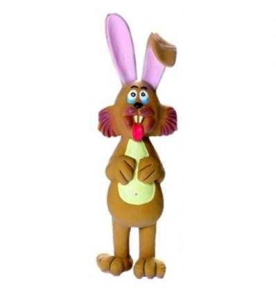 Hundespielzeug Kaninchen Plüsch rosa 55cm