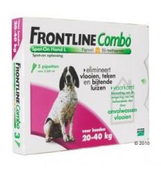 Frontline Combo L anti-vlooien 3 pipetten