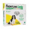 Frontline combo Hund S 2-10 kg 3 Pipetten