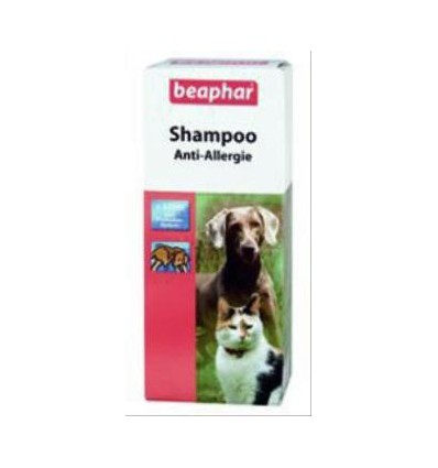 beaphar shampoo anti allergie 200ml petbed. Black Bedroom Furniture Sets. Home Design Ideas